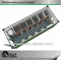 prefabricated container ablution unit toilet