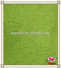 alibaba china colorful embossed faux suede