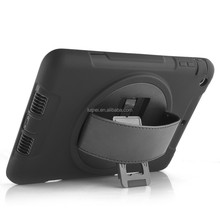 Hybrid TPU+PC Shockproof Case For Ipad 2 3 4 With Strap