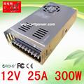 fuente de alimentación para led 12v 300ma dc fuente de alimentación 5v 12v 300w de suministro de energía