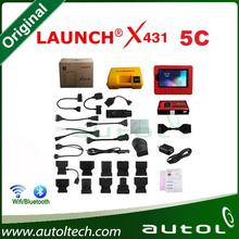 2015 Newest Global Version Original X431 V Launch X431 5C Update via Internet X-431 5C WIFI/Bluetooth Free Shipping