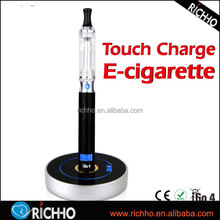 2015 New Arrival iGo4 Touch Charger electronic cigarette free sample free shipping With Lcd Display In Promotion