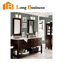 LB-JL2011 Traditional style Solid Wood Bathroom Vanity Cabinet