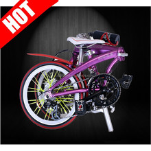 di squisita fattura 6061 bicicletta pieghevole in alluminio