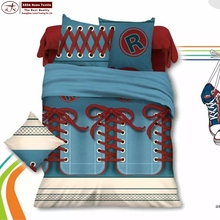 double bed 3D cowboy print bedding cover comforter sets