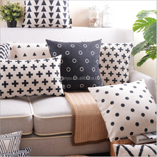 linen/cotton printed cushion cover custom printing cushion covers
