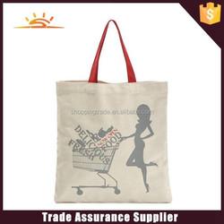 Reusable cheap cotton shopping bag