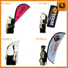 outdoor marketing street backpack flag and banner