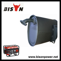 BISON(CHINA)Cheap Silent Generator Muffler,Generator Spare Parts