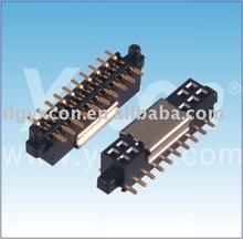 1.27mm Pitch Dual Row Socket Connector SMT Type