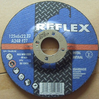 "Metal Grinding Disc 5"" 125mm Professional Quality Steel grinding Abrasive grinding wheel"