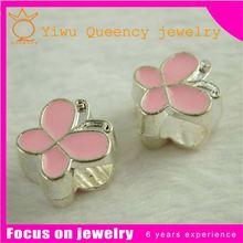 925 Sterling Silver Pave Diamond Enamel Evil Eye Fashion Charm Pendant Jewelry Supplier