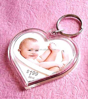 hot sale heart shape key chain