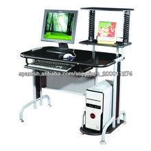 GX-208 Vidrio tapa de la mesa oficina mesa de ordenador
