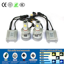 Newest replacing HID high brightness led head lamp h4 4s led head light for car