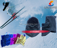 FL-16 Ningbo Lingshang be mad from 100% polyester and fleece colorfuldesign be used for unisex Balaclavas