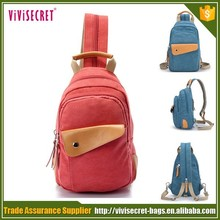 Guangzhou factory manufacturing canvas bags chest pack messenger bag