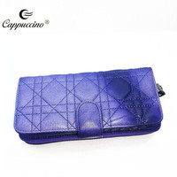 2016 brand design lady women female wholesale woman wallet of sheep skin leather