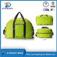manufacturers foldable nylon trolley travel bags