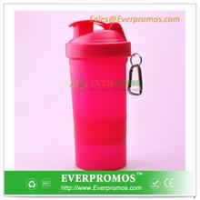 Customized Protein Shaker Plastic Drinking Container For Health Supplement Store