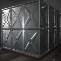 2012 New Pressed Steel Galvanized Water Storage Panel Tank For Firefighting Water