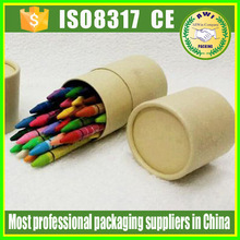 pen packing paper tube with logo New Design Handmade Recycle Customized paper tube for art colour pen