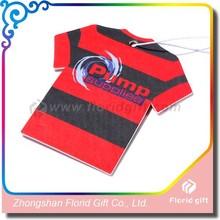 Customized Logo & shape paper air freshener for hanging car