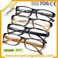 Hot sales thinner Acetate men's eyeglasses frame (8577)
