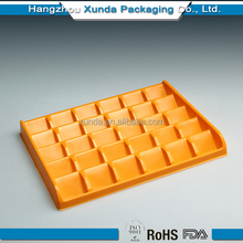 Chocolate plastic tray for hot selling