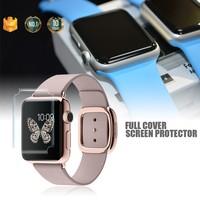 Full Cover !! 38mm/42mm Japan Material Mobile Phone TPU screen protector for Apple watch OEM ODM