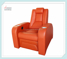 New design electric home leather theatre recliner seat ,VIP sofa