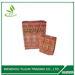 china supplier eco friendly recycle handmade gift logo printed retail fashion shopping custom white paper bags