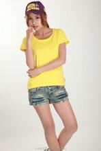 100% Cotton Blank t-shirt/100% cotton Basic T-shirt/polyester plain t-shirt