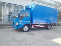 cheaper cold storage truck/refrigerated standby electric unit truck/nissan freezer truck Price