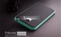 New arrival 100% original ipaky brand silicone+pc bumper back cover case For Meizu M2 Note