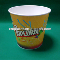 170oz paper popcorn bowl/popcorn container