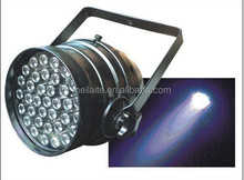 Professional disco dj party stage light 50w 36*1w/3w rgb led par 64 36 x 3w