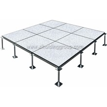 600*600 anti-static Pvc steel raised access floor, optional accessories with long service life