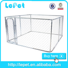 wholesale large outdoor cage for dogs/cheap chain link dog kennels/outdoor dog fence