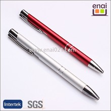 Featured slim body good writing Cheap metal ball pen for office supplies
