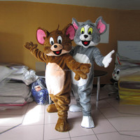 Adult top selling tom & jerry mascot costume type