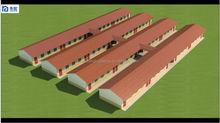 2015 Hot Sell Foam Cement Board broiler poultry farm house design