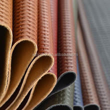 Best Raw Material For Shoes Embossing 1.1MM Thickness Synthetic Leather (HD2012-76)