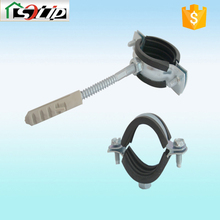 rubber galvanized safety hose clamp