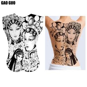 Venda quente Tamanho Grande Tatuajes Impressos Personalizados Tatuagens Temporárias