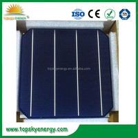 2016 Latest 3BB 4BB Monocrystalline Solar Cell 156x156