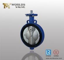 Spheroidal Graphite iron/SG iron bare stem butterfly valve
