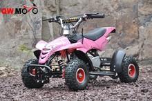 Nueva barato de actualización niños 49cc mini atv quad con buena mejoras para el