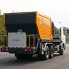 Asphalt Synchronous Chip Sealer Distributor Bitumen, spraying bitumen and chipping together