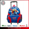 2015 BSCI factory wholesale fashion trolley school bag backpack for boys and girls